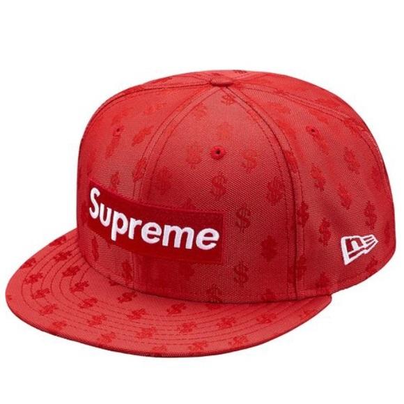 New supreme cap hat monogram box logo new era c28e1f60186